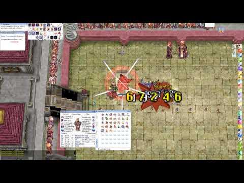 iRO Chaos Crit Ranger 193aspd +15Crimson Bow Gears Shown
