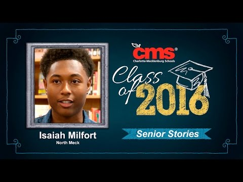 Isaiah Milfort - North Mecklenburg High School - Class of 2016