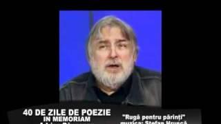 spot In memoriam Adrian Paunescu, Stefan Hrusca - Ruga pentru parinti - 10-11 nov 2010