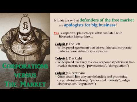 Corporations versus The Market (by Roderick Long)