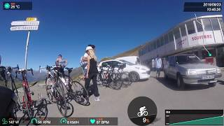 Haute Route Triple Crown 2016 Day4_014 : Pyrenees  Stage4 トゥールマレー峠自転車登り Col Du Tourmalet climb