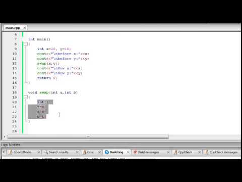 C++ Tutorial 11   Call by value and call by reference
