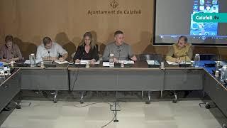 Consell de Barri de Calafell, 25 de novembre de 2019