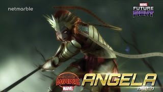 Harken back to Marvel 1602 with Angela in Marvel Future Fight!