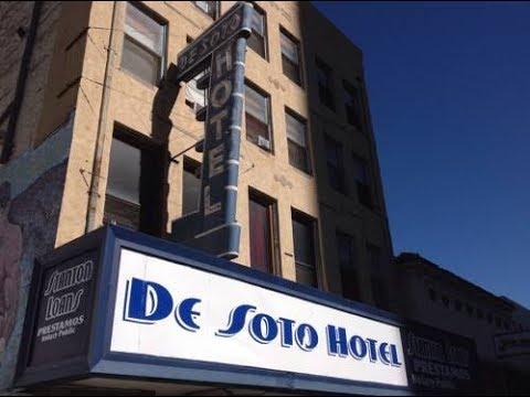 De soto Hotel El Paso Tx Ghost Tour - YouTube