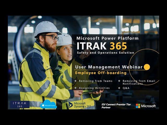ITRAK User Management: Employee Off-Boarding
