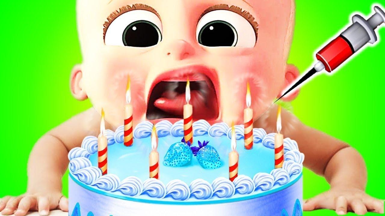 Baby Cake Game Cake Maker Salon Real 3D Cake Making Game play
