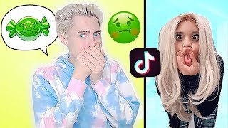 If You Laugh You Have To Eat Worlds Grossest Candy...   Tik Tok Try Not To Laugh Challenge