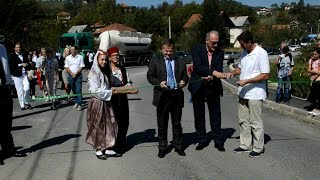 Otvorena dionica lokalne ceste Breza - Prhinje