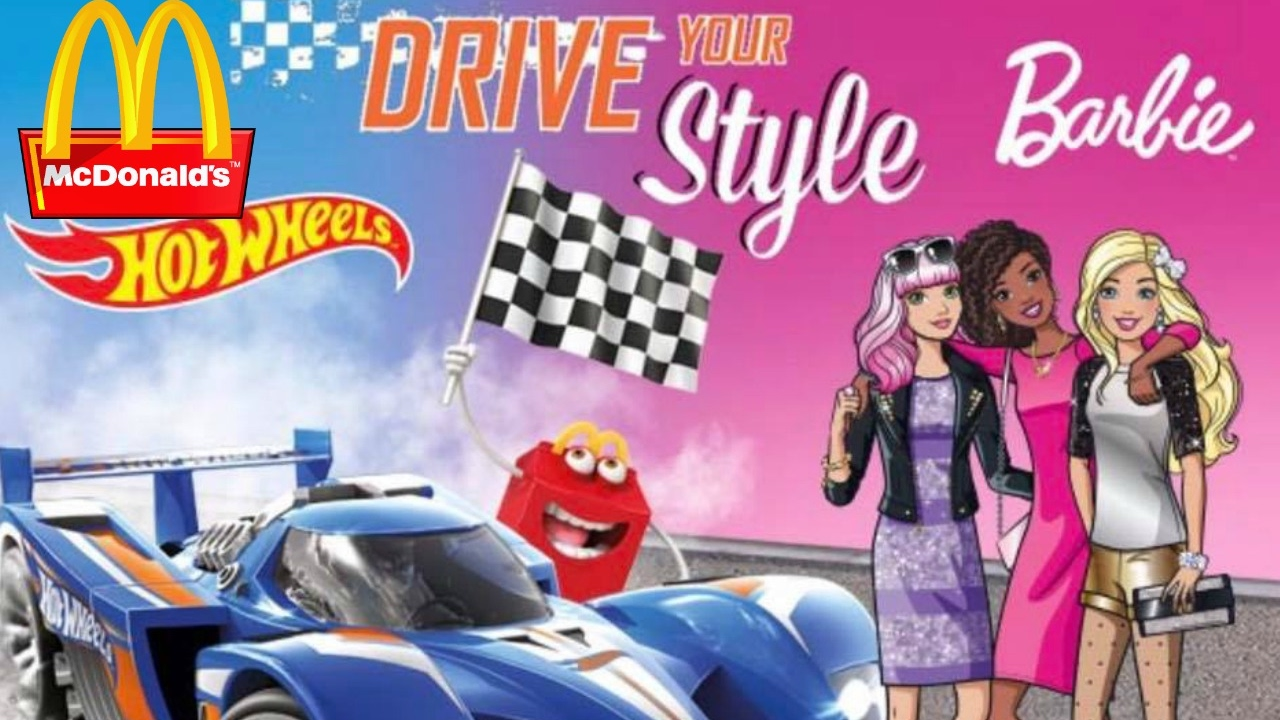 2017 Best Of Happy Meal Barbie And Hot Wheels Commercials