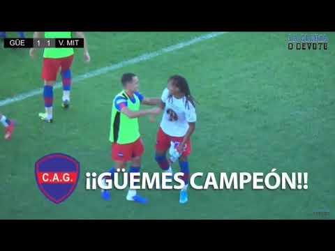 Torneo Federal A - GÜEMES (SdE) 1 (4) VILLA MITRE (BB) 1 (2) Goles y penales Final ascenso 1ra Nac.