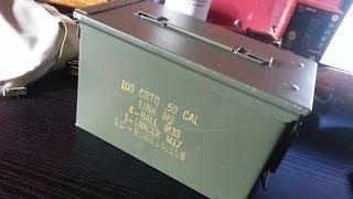 Le stockage de munition ? les caisses de surplus militaire