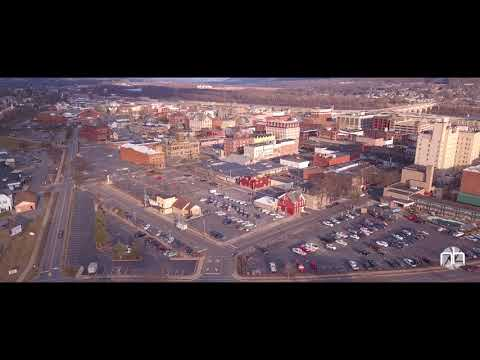 Williamsport, Pennsylvania - Downtown - DJI Mavic Pro