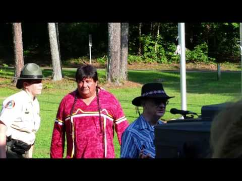 Flag Ceremony of All 3 Cherokee Nations at Red Clay State Park