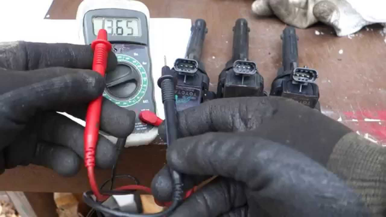 How to test Toyota Corolla ignition coil status OK or bad