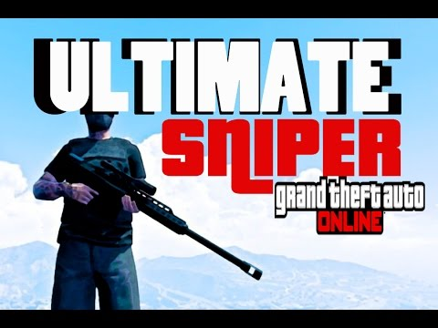 GTA ONLINE - THE TROLL SNIPER RETURNS - (GTA V ONLINE)
