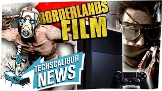 VERARSCHE bei PS4 und MGS 5: The Phantom Pain!? I BORDERLANDS - Film kommt! - TECHSCALIBUR NEWS
