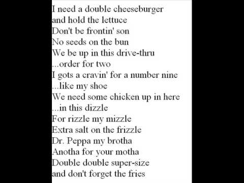 McDonald's - Menu Song Lyrics | MetroLyrics