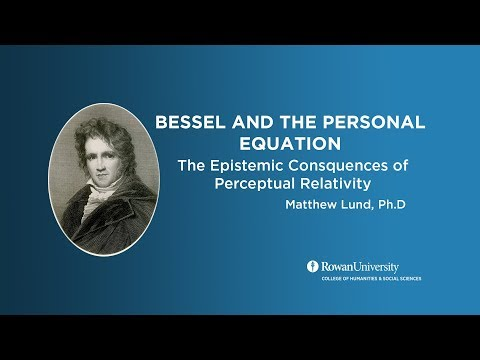 Bessel Personal Equation
