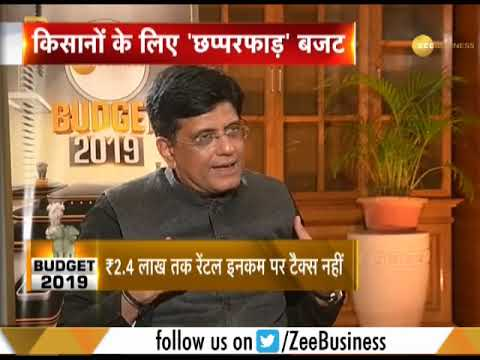 An exclusive interview with Piyush Goyal on Budget 2019