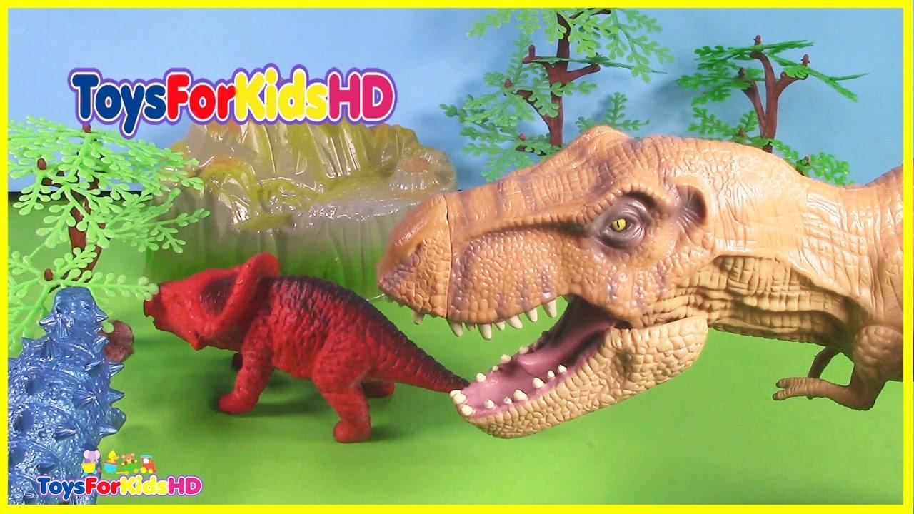 Videos De Dinosaurios Para Ninos Los Dinosaurios Mas Grandes Juguetes De Dinosaurios Toysforkidshd Youtube Los dinosaurios están muy bien conseguidos y destacan por ser bastante grandes a pesar de su precio, concretamente miden 18 cm, perfectos para que tu hijo se lo pueda pasar realmente bien imaginando aventuras. videos de dinosaurios para ninos los dinosaurios mas grandes juguetes de dinosaurios toysforkidshd