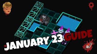 Friday the 13th Killer Puzzle Daily Death January 23 2020 Walkthrough