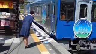HIGH RAIL 1375 小淵沢回送到着〜発車