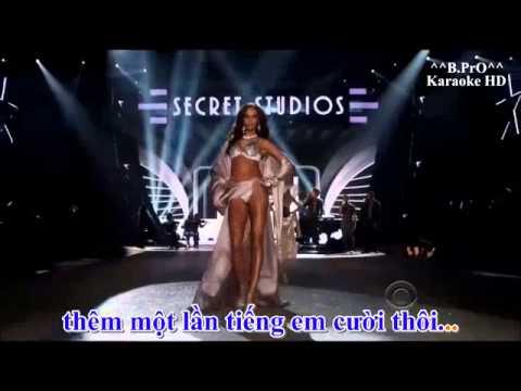 Karaoke HD Em Chua Tung Biet   Remix Melody 2013   YouTube