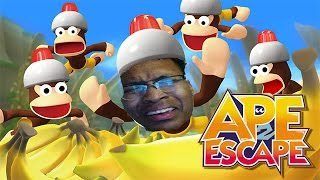 THIS GAME RACIST LOWKEY | Ape Escape 2