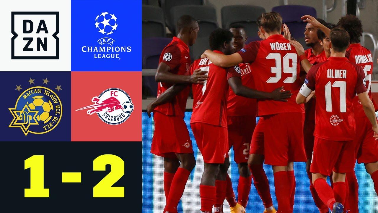 Schock-Start! Bullen kämpfen sich zum Sieg: Tel Aviv - Salzburg 1:2 | UEFA Champions League | DAZN