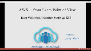aws certifications exam tips ec2 root volumes instance store vs ebs