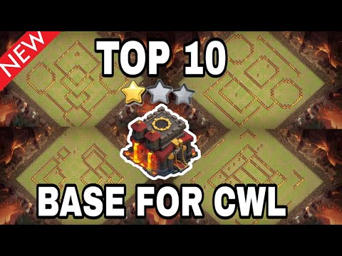 TOP 10 NEW || TH10 BASE FOR CWL | TH 10 WAR BASE | TOWN HALL 10 BASE LINK | 2020 | CLASH OF CLANS