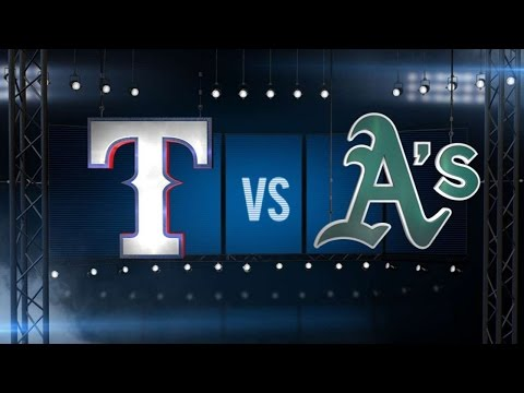 9/23/15: Rangers tee off, slash magic number to eight