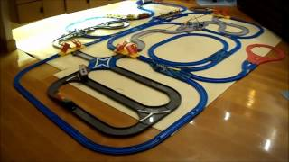 Plarail Automatic Transfer System Station and Motor Tomicas