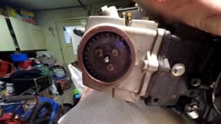 demontage moteur 125 cc partie 1