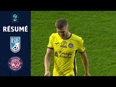 Dunkerque Toulouse Goals And Highlights