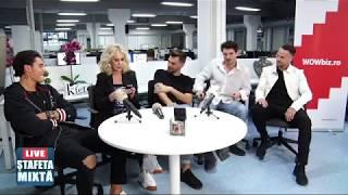 Mario Fresh, Ciprian Silași și Cristi Geaman la Ștafeta mixtă! Cum discuta iesirile lui Giubi?