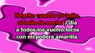 La Pollera Amarilla (con letra) - Gladys la Bomba Tucumana (Karaoke)