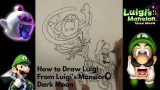 How to Draw Luigi From Luigi