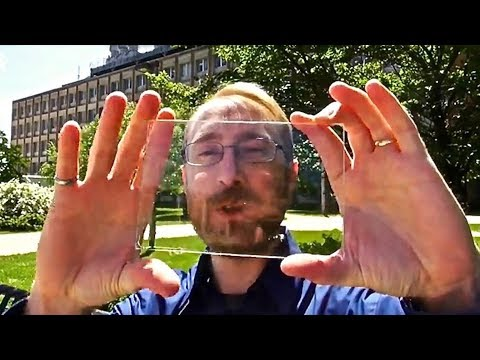 Transparent Solar Panel Windows! - Revolutionary Invention
