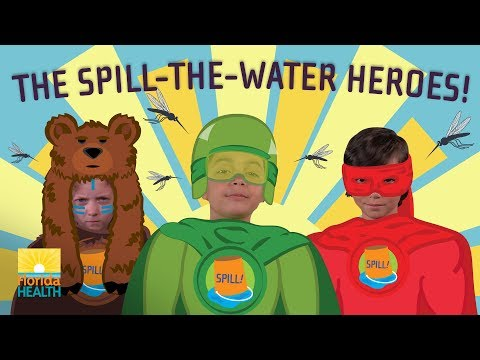 The Spill-the-Water Heroes!