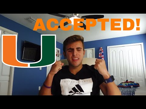 HOW to GET into the University of Miami