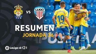 Resumen de UD Las Palmas vs CD Lugo (4-1)