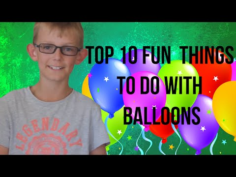 How to make giant water marbles doovi for Fun things to do with water balloons