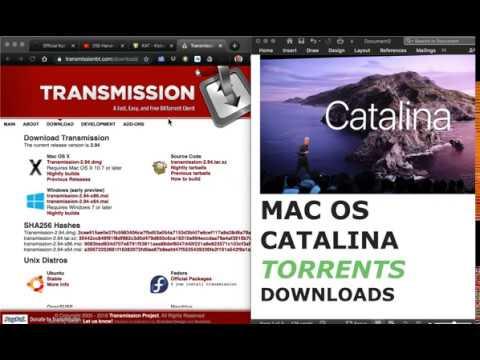 How To Download Torrent Files On Macbook. MacOS Catalina Torrents
