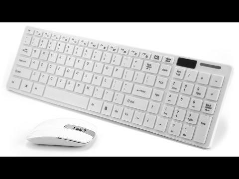 беспроводная клавиатура + мышь с сайта aliexpress