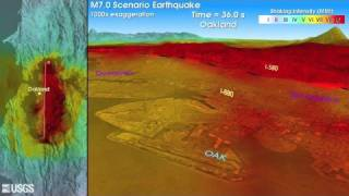 M7.0 Earthquake Simulation for Hayward Fault, California