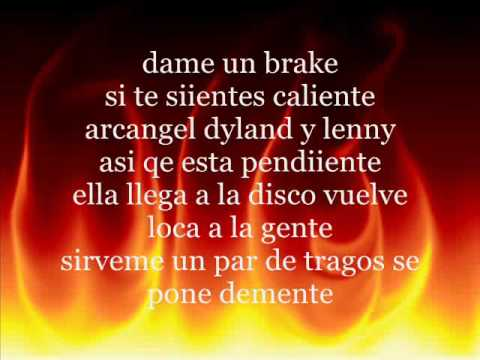 Dyland y Lenny Caliente lyrics
