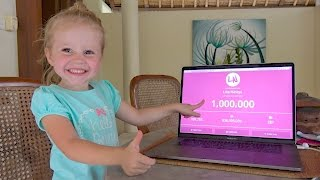 1000000 ПОДПИСЧИКОВ дарим ИГРУШКИ!! ВЫБИРАЙ bab baby или Маша и медведь? Лайк Настя Влог для детей