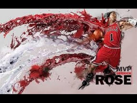 Derrick Rose Dunk Highlights